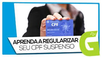 Regularizar CPF suspenso