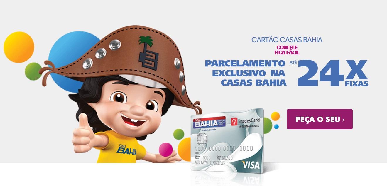 Como fazer o cartão de crédito Casas Bahia