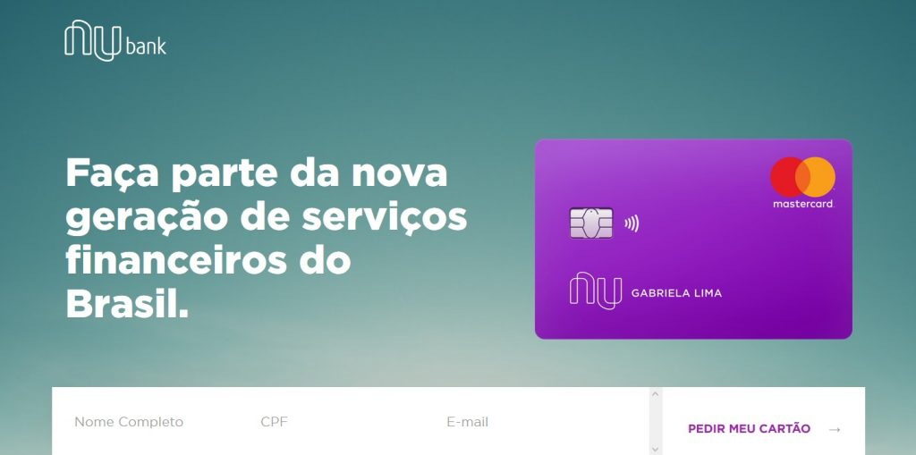 Como fazer cartão de crédito Nubank