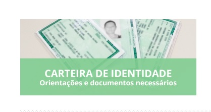 Agendamento de carteiras de identidade